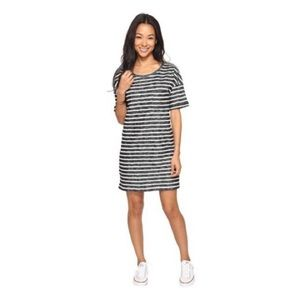 Roxy striped t-shirt dress